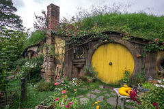Trous de Hobbit Photos stock