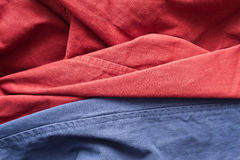 Trouser material Royalty Free Stock Photo