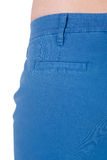 Trousers back pocket Stock Photography