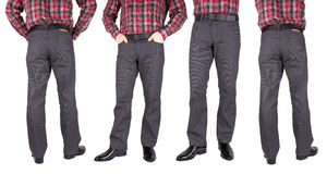 Trousers for men Stock Photos