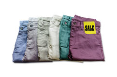 Trousers Royalty Free Stock Photography