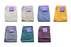 Trousers. On a white background Royalty Free Stock Photo