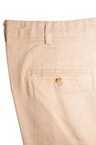Trousers on white Stock Images