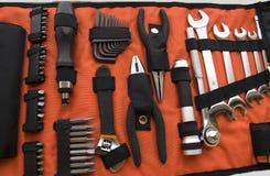 Trousse à outils industrielle Images stock