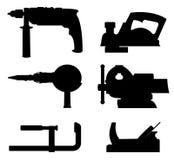 Trousse d'outils d'atelier Photo stock