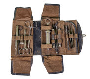 Trousse d'outils chirurgicale Photos stock