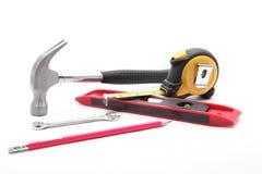 Trousse d'outils de construction Image libre de droits