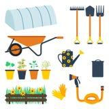 Trousse d'outils de jardin photos stock