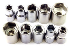 Trousse d'outils mécanique de peu Images stock