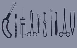 Trousse d'outils médicale illustration de vecteur