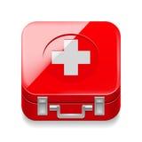 Trousse de premiers soins Images stock