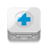 Trousse de premiers soins Photos libres de droits