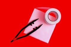 Trousse de réparation médicale Photo libre de droits