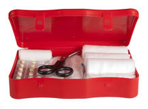Trousse de secours Photos stock
