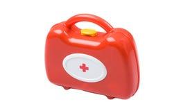 Trousse médicale de jouet Photographie stock libre de droits