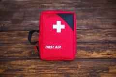 Trousse médicale de premiers secours Photo libre de droits