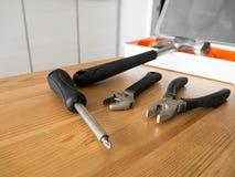 Trousses à outils de Lite Photographie stock