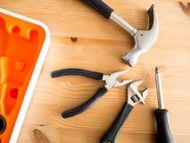 Trousses à outils de Lite Image stock