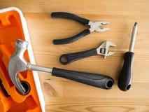 Trousses à outils de Lite Images stock