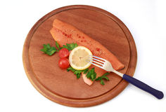 Trout fillet Royalty Free Stock Image