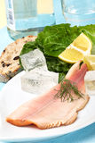 Trout Fillet Royalty Free Stock Images