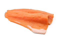 Trout fillets Stock Image