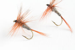 Trout fly Stock Photo