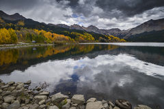 Trout Lake in Fall Color Royalty Free Stock Photos
