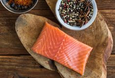 Trout with spice royalty free stock photography