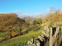 The Troutbeck Valley. Stock Photo