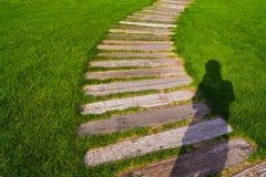 Trouver mon chemin Photo libre de droits