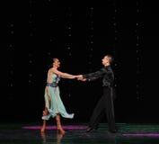 Trouvez-le difficile de déchirer la magie d'apart-The de la danse du monde de l'Autriche de danse-le d'amour-flamant Photos libres de droits