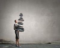 Trouvez votre équilibre intérieur images libres de droits