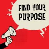 Trouvez votre but illustration libre de droits