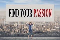 Trouvez votre passion Photos libres de droits