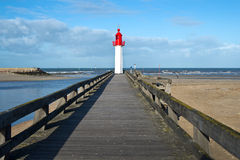 Trouville lighthouse, Normandy Stock Photography