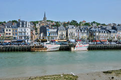 Trouville in Normandie Royalty Free Stock Image