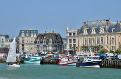 Trouville in Normandie Stock Photo