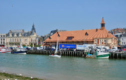 Trouville in Normandie Stock Photography
