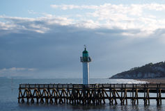 Trouville pier Stock Image