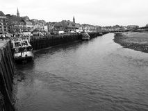 Trouville Port. In Normandy France Stock Photos