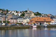 Trouville-sur-Mer, Франция Стоковая Фотография RF