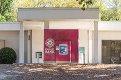 Trouwbank ATM stock foto