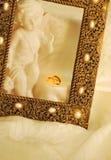 Trouwringen Royalty-vrije Stock Afbeeldingen