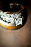 Trouwringen Royalty-vrije Stock Afbeelding