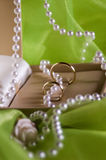 Trouwringen Royalty-vrije Stock Foto