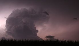 Trovão da meia-noite Foto de Stock Royalty Free