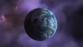 Trovão e terra do planeta vídeos de arquivo