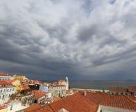 Trovão-tempestade Fotografia de Stock