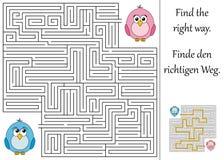 Trovi il giusto modo Immagini Stock Libere da Diritti